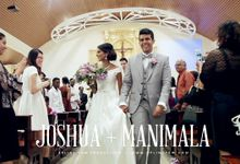 Celebrates love with Joshua & Manimala - Church Wedding Cinematic Highlight by Aplind Yew Production - Wedding Cinematography & Photography