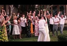Josh & Emily Wedding Highlight - Aerial by icinema bali
