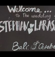 Stephan & Larasati Wedding Highlight by icinema bali