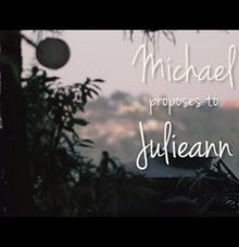Michaels Wedding Proposal by The Jawiman Concept