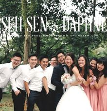 Celebrates love with Seh Sen & Daphne - The Wedding Day Same Day Edit by Aplind Yew Production - Wedding Cinematography & Photography