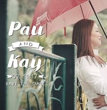 Pau and Kay Save The Date Video by Squid Media Films