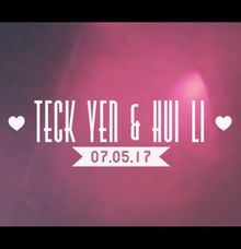 Hui Li & Teck Yen Express Highlights Video by SweeSwee Studios
