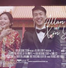 Allan & Xin Yi by Our Wedding Story