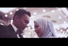 The Reception of Azrain & Najwa by IndiWeddings