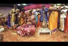 Logavel & Puvana  Singapore 360 Indian Wedding by PaperFilm Studios