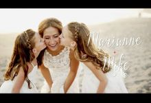 Bali Wedding Video - Marianne & Mike wedding highlight by Arya Wedding Films