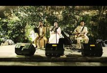 Moondance Trio on The Wedding of Kent & Nicky by Moondance Bali