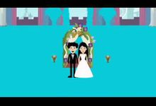 "Save the date animated wedding video invitation for Rahul and Neha by Studio 461 - ""Save the date"" Video Invitation"