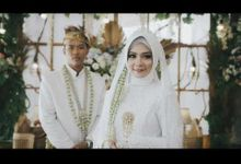 the wedding of Nurul + Arif by PECULIAR CREATIVE