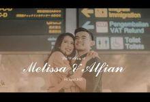 Akad Nikah Melissa & Alfian Live Streaming Wedding Ceremony by viding