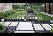 The Wedding Of  Cui Chi and Chen by universal party solution