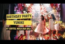 Birthday Party of Yunike (Indonesia) by DJ PID