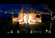 Discover Hotel - 9th January 2016 by Bali Fire Dancers