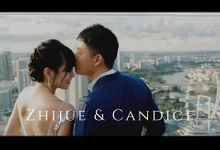 Singapore Pre Wedding Videography at Marina Bay Sands  Zhijue and Candice Save the Date Video by Peach Frost Studio