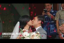 The Wedding Of Ruslan And Cynthia by universal party solution