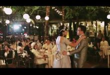 Wedding Reception Dinner at Segara Village by Byrdhouse Beach Club