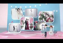 Photo Personalized Collage Video Montage - Love Puzzle by The Wedding Montage