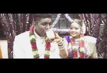Parames & Thilaga Wedding Highlights by PaperFilm Studios