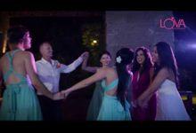 Video the wedding of Riescha and Jonathan at Soffitel Nusa Dua Bali by LOVA BAND ENTERTAINMENT BALI