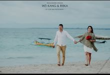 Wei Kang & Ribka - Engagement Session by I Love Bali Photography