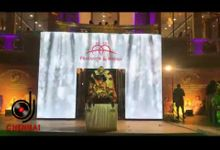LED Entry Arch - Wedding Reception  by Dj In Chennai