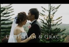 An Epic Coral themed wedding in Tagaytay  of Christian and Grace Same Day Edit Video by Peach Frost Studio