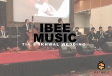 I Just Cant stop loving you - Michael Jackson Cover at Tia and Ikhwal Wedding by Ibee Music