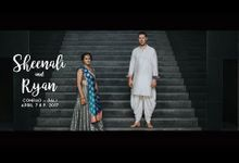 INDIA WEDDING  SHEENALI AND RYAN by Flipmax Photography