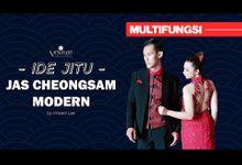 Jas Cheongsam Modern by Ventlee Groom Centre