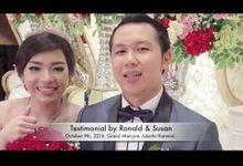 Wedding Ronald & Susan by Erwin Wong Entertainment