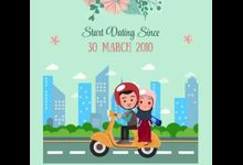 SIMPLE LOVESTORY Video for Bia and Reza by Camille.id