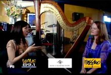 WEDTV Wedding TV Show EPISODE 7 PART3 PAWS Animal Rescue Center Watch Wave Wedding Blends Wedding Harp Music Holly Angel Paraiso at Manila Diamond Hot by Holly Paraiso - Harpist