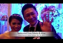 Wedding Edwins & Aline by Erwin Wong Entertainment