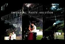 Jess and Keneth Wedding by universal party solution