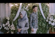 Maulanal & Atika Engagement by Markashima Audio-Visual