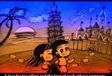 Sand Art video by Sandy Stories Pte Ltd