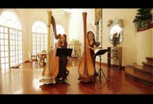 Avonlea and Holly Paraiso harp duet-Leaving on a jet plane by Holly Paraiso - Harpist
