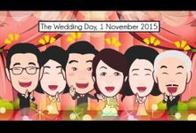 The Wedding Animation of Glenn and Ria by siApy Wedding Animation
