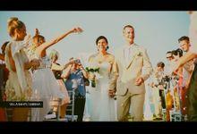 Bali Wedding Videographer // Jasmin + Luke by Bali Red Photography