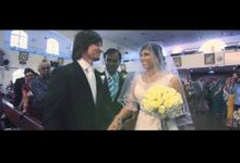 Tomasz & Rebecca Church Wedding Highlight's by WorkzVisual Video Production