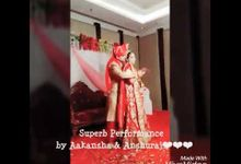 Bride & groom Wedding Performance by Grooves & Moves With Sonam Khurana