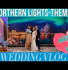Northern Lights Themed Wedding by Ingrid Nieto