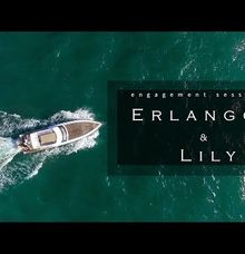 Erlangga And Lily Engagement Session by Arya Wedding Films