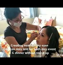 Clasic Bridal Day Makeup And Hairstyling by Lili Makeup Specialist