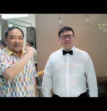 Jas Wedding Glossy Utk Postur Badan Berisi by Ventlee Groom Centre