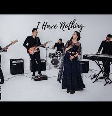 I Have Nothing cover featuring Anggun Bee on vocal by Lucky Aces Acoustic Bali