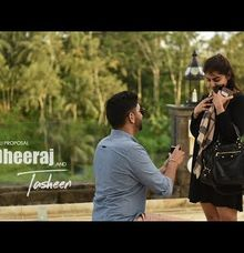 Surprise Proposal in Bali by Bali Wedding Videography