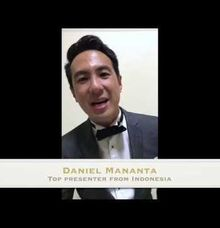 Comment Of  Indonesian  Top Presenter by Tarik The Tenor ( The Luxury Entertainment )