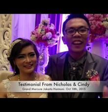 Testimonial Nicholas & Cindy by Erwin Wong Entertainment